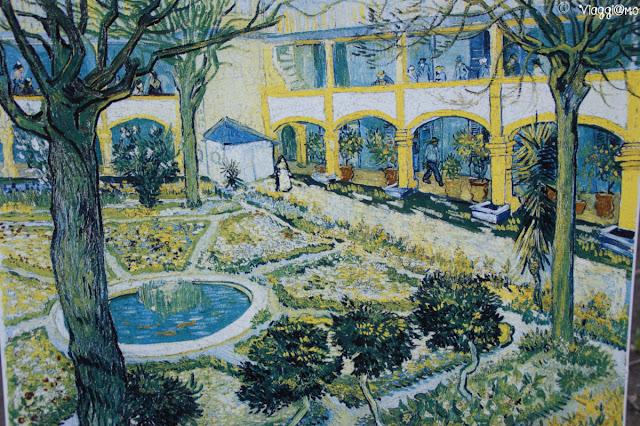 Riproduzione del celebre dipinto di Van Gogh