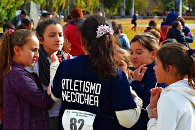 Atletismo inclusivo Loberia Necochea