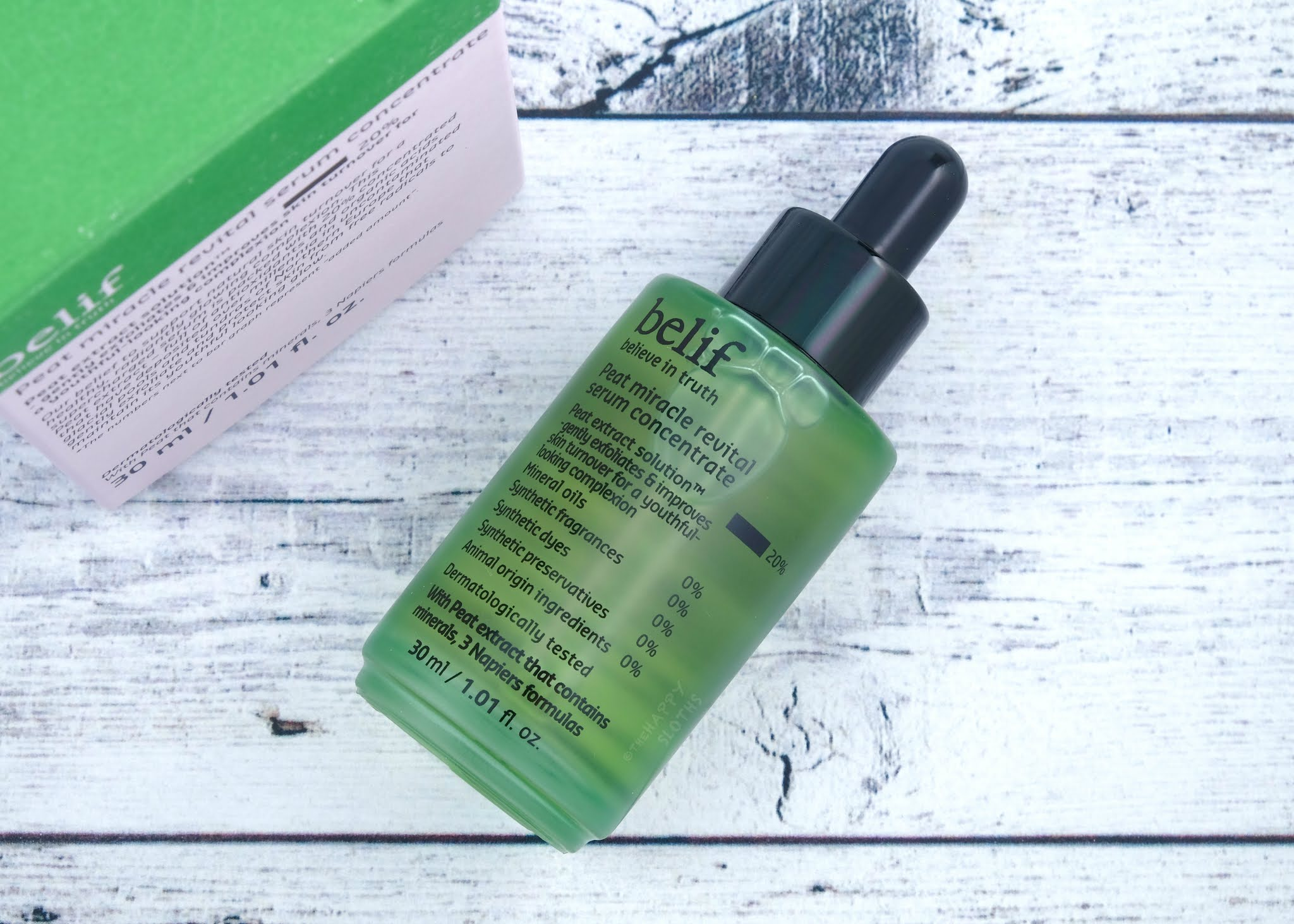 Belif | Peat Miracle Revital Serum Concentrate: Review