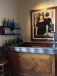 Wine bar of Le Chat Noir