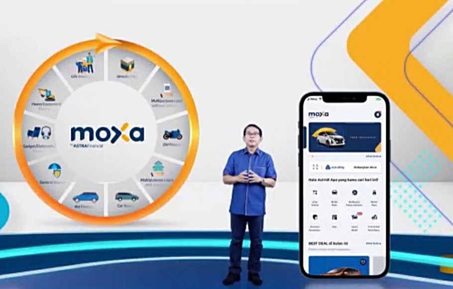 produk keuangan terintegrasi Astra Financial di MOXA