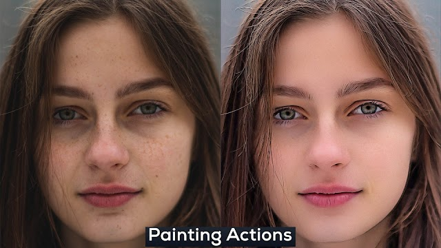 Free Painting Photoshop Actions for Designers and Photographers