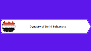 Dynasty of Delhi Sultanate