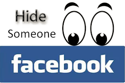 Hide someone On Facebook