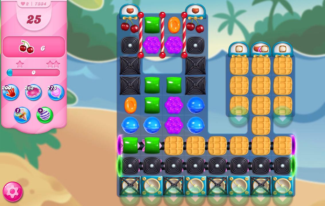 Candy Crush Saga level 7334