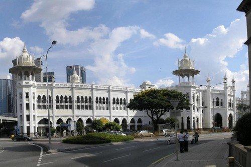 Kuala Lumpur Railway Station.