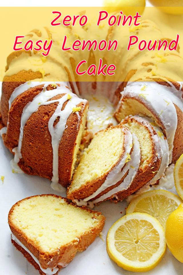 Weight Watchers Freestyle Lemon Pound Cake Recipe