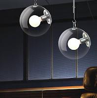 Lighting design ideas with unique glass pendant bulb lamps