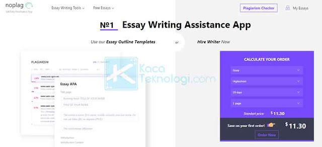 Noplag menawarkan analisis terperinci tentang plagiarisme yang dapat dibagikan dan didiskusikan. Noplag dapat menjadi solusi jika Anda khawatir apakah skripsi yang Anda tulis terdeteksi plagiat.
