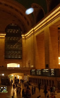 speeding orb at Grand Central