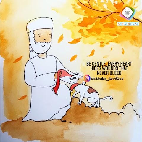Wounds - Sai Baba Doodle Art Showcase