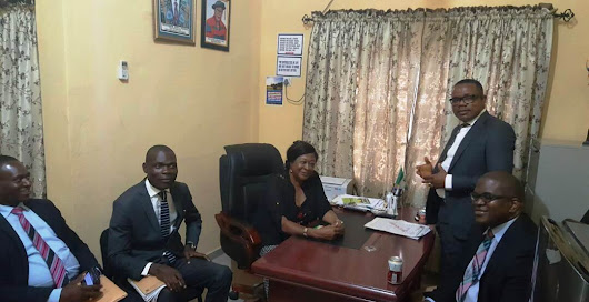 Zenith Bank pays Courtesy call on AKSU Faculty of Education
