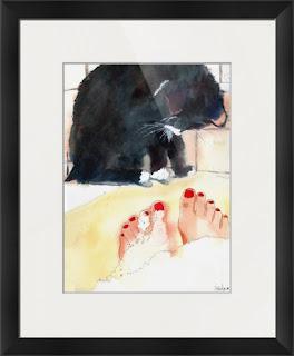 cat art for sale https://www.etsy.com/shop/mimistudio?search_query=cat