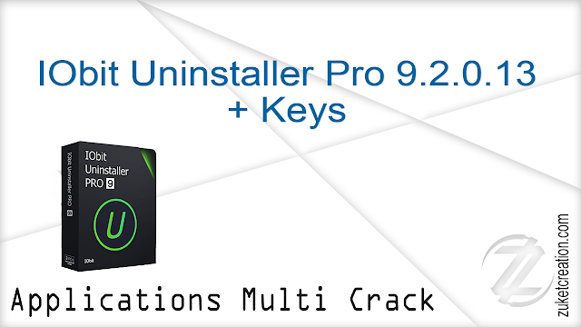 IObit Uninstaller Pro 9.2.0.13 + Keys
