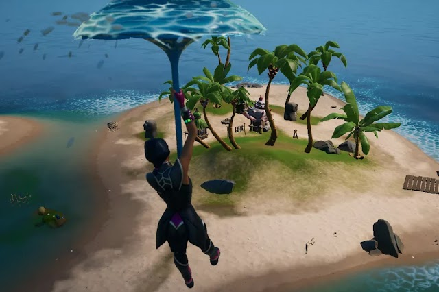 Fortnite: Visit the Boat Launch, the Coral Cove, and the Flopper Pond challenge guide