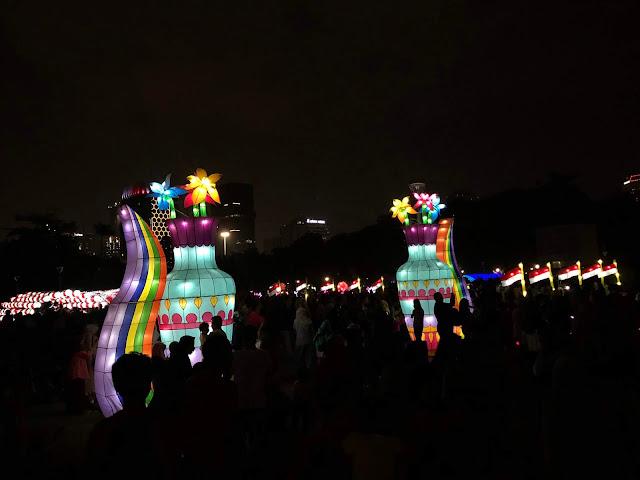 Festival of lights, Jakarta