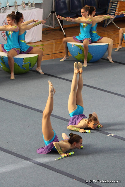 Rhythmic Gymnastics floor program clubs II