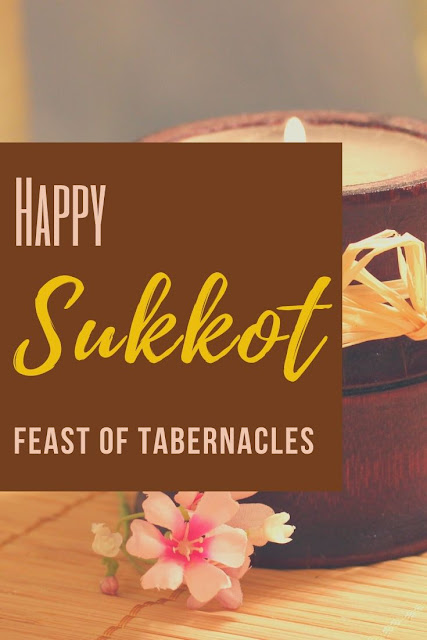 Happy Sukkot Festival Greeting Card | Feast Of Tabernacles | Chag Sukkot Sameach | 10 Free Pretty Greeting Cards