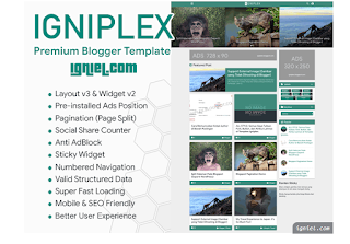 Website Jual Beli Template Blog igniel.com
