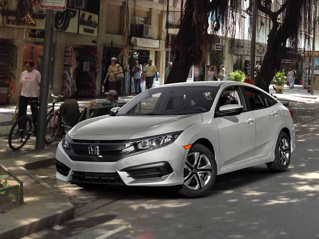 Novo Honda Civic 2017 2.0 Flex CVT