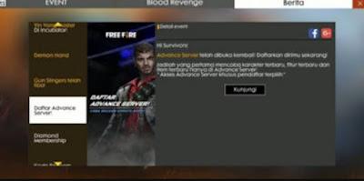 Dalam pembahasan kali ini kami akan mengulas tentang game Free Fire yaitu Advance Server  Cara Daftar Advance Server FF Free Fire November 2020