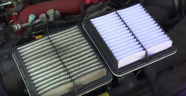 tipos de filtros de aire para coches
