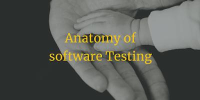 Anatomy of software Testing