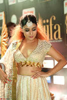 Apoorva Spicy Pics in Cream Deep Neck Choli Ghagra WOW at IIFA Utsavam Awards 2017 108.JPG