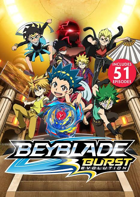 Beyblade Burst Evolution Season 02 All Images In Hd