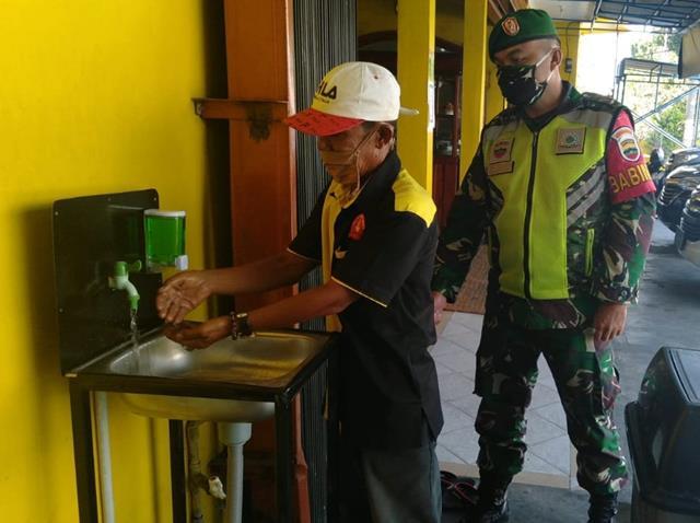 Posko PPKM Skala Micro Dilaksanakan Personel Jajaran Kodim 0207/Simalungun Diwilayah Binaan