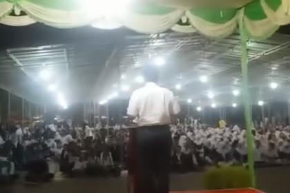 Puji Keberhasilan Jokowi saat Beri Kuliah Umum, Luhut di Usir Mahasiswa UNPAB di iringi Teriakan Prabowo