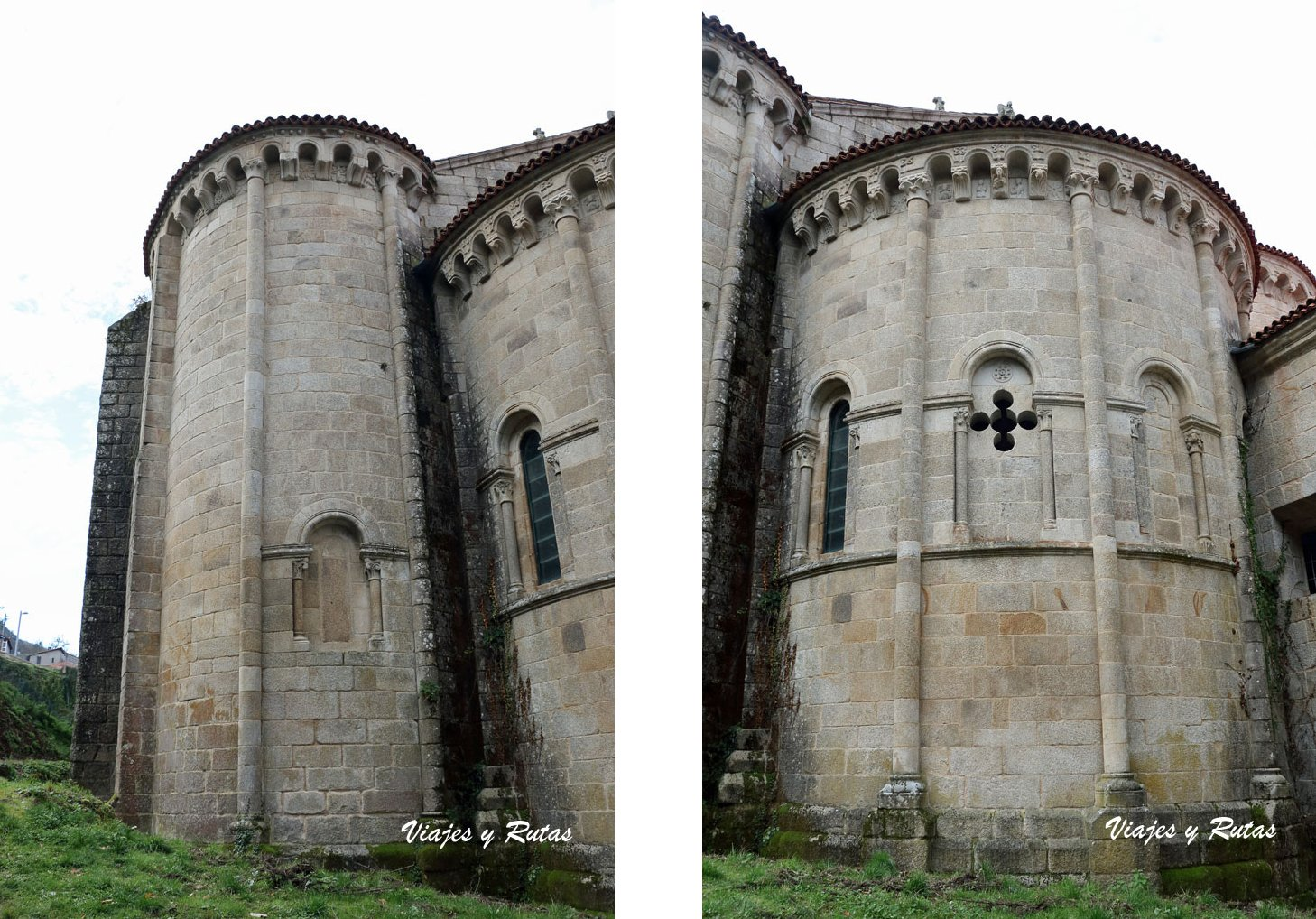 Ábsides de la Iglesia de Santo Estevo de Ribas de Sil