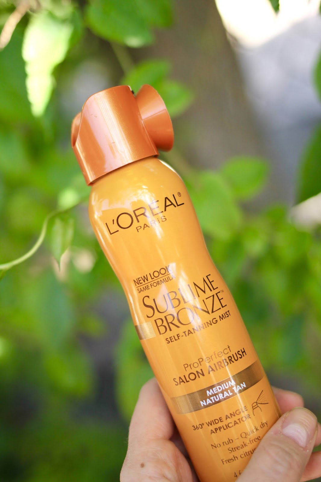 loreal self tanning mist review, easy self tanner