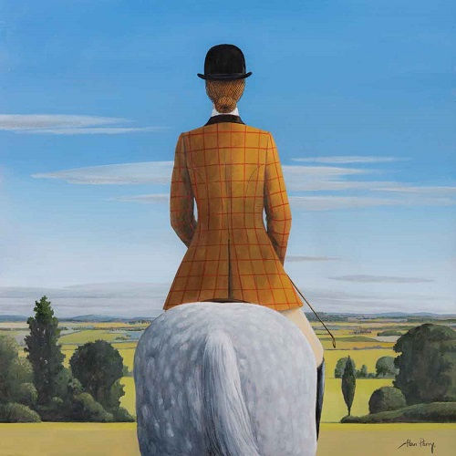"""Lady of the Chase II"" by Alan Parry - 2018 