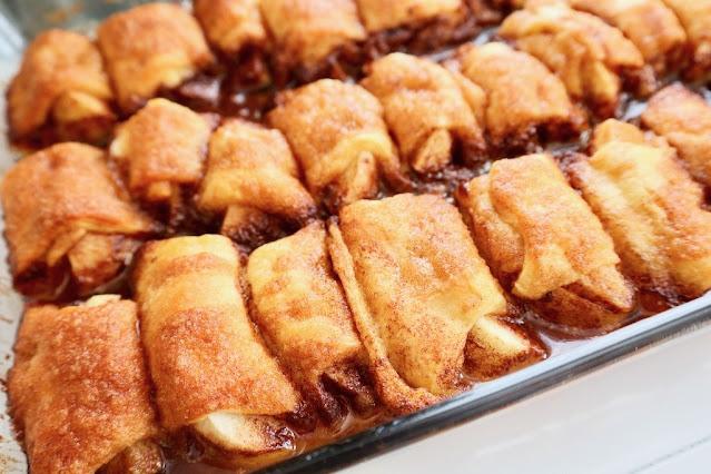 Easy Apple Crescent Dumplings