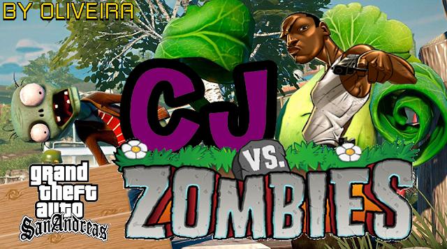 GTA San Andreas Plants Vs Zombies Mod Free Download