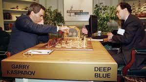 deep blue and Garry Kasparov