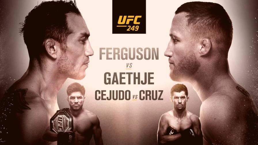 UFC 249 Date, Start Time, Venue, Live Stream, Full Card and Free Bets