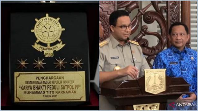 Berkali-kali Beri Penghargaan, Relawan Jokowi Sebut Tito Ngebet jadi Cawapres Anies
