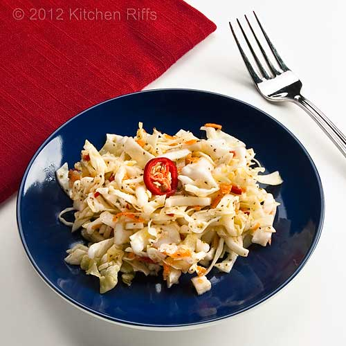 Garlic Coleslaw