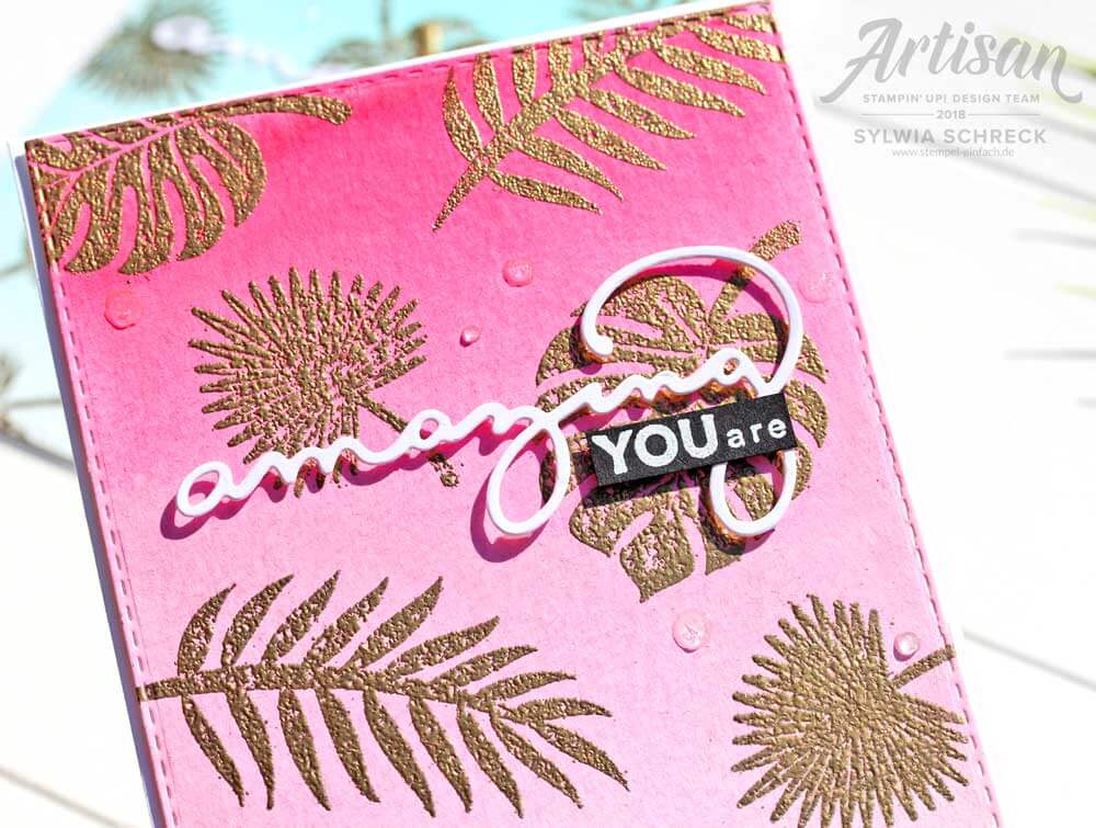 tropenflair-stampin up