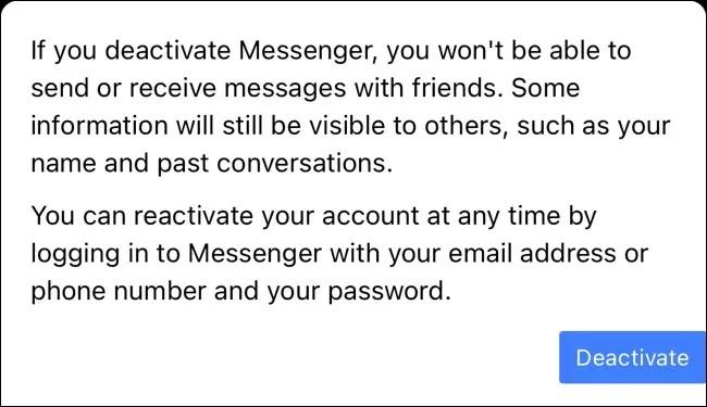 cara deative messenger