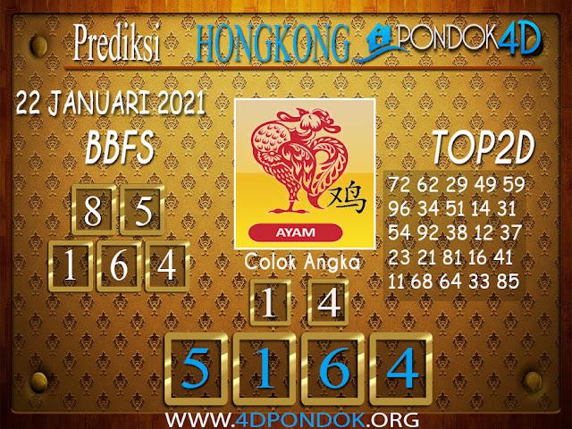 Prediksi Togel HONGKONG PONDOK4D 22 JANUARI 2021