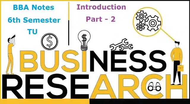 Business Research Methods │ Introduction