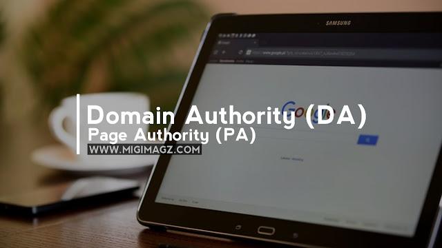 3 Cara Mengecek DA (Domain Authority) dan  PA (Page Authority) Suatu Blog / Website