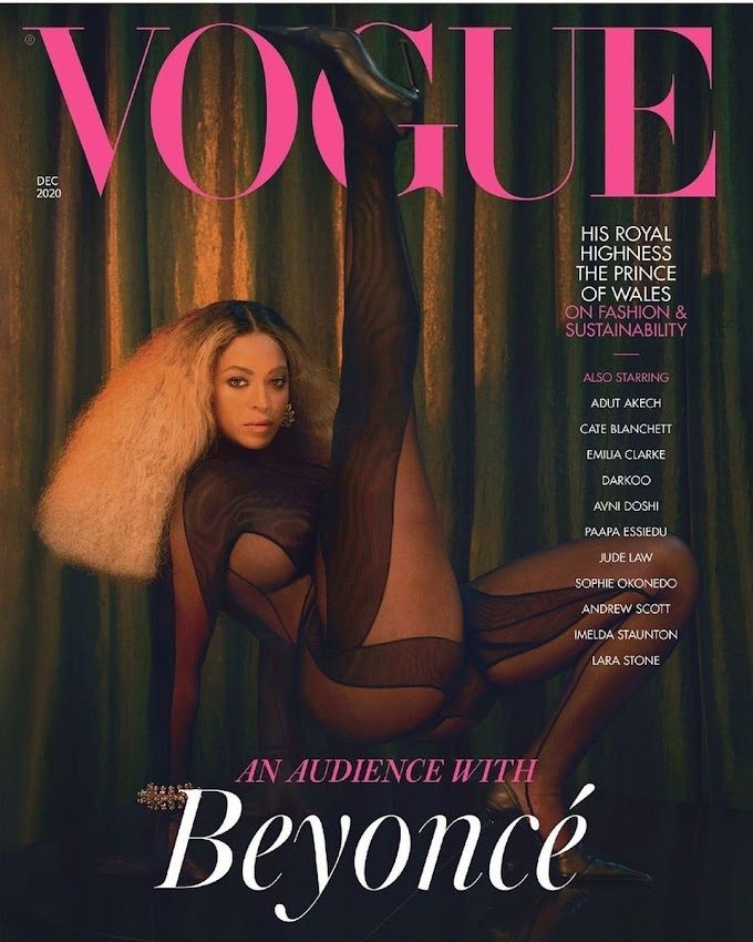Beyonce Covers The December 2020 Issue Of British Vogue, Starring In 3 Special Covers.