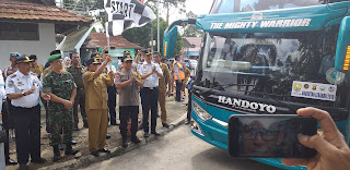 Gubernur Jambi Lakukan Pencanangan Angkutan Lebaran