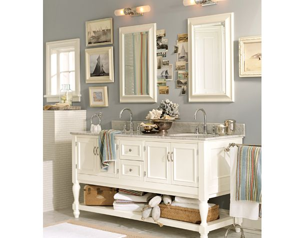awesome pottery barn bathrooms designs | The Concierge Blog: Get this Pottery Barn Bathroom for Less!