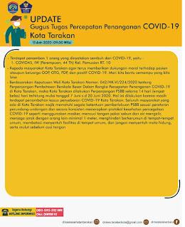 Press Release COVID-19 Tarakan 13 Juni 2020 - Tarakan Info