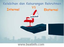 Buat Info - Kelebihan dan Kekurangan Rekrutmen Internal dan Eksternal